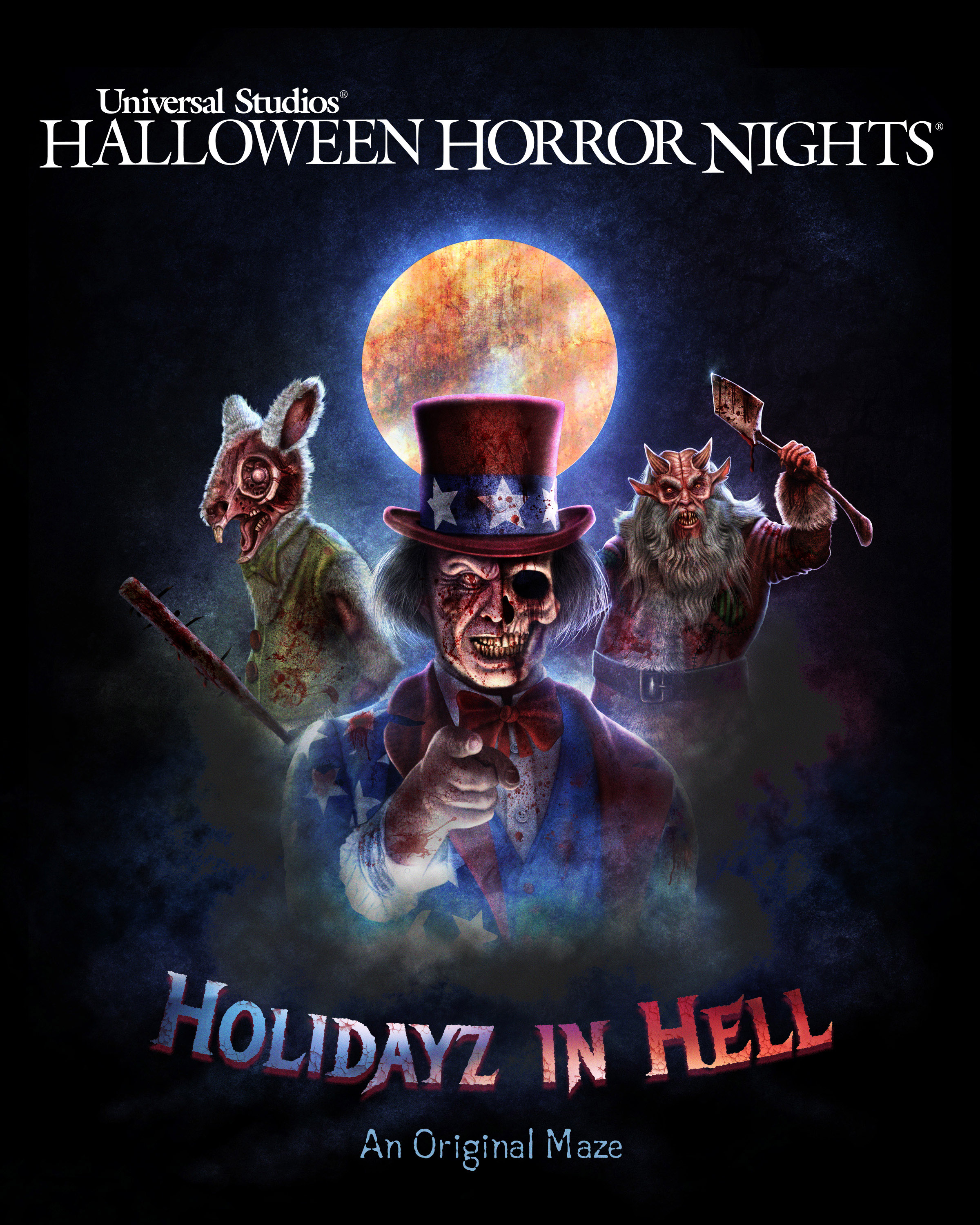 Halloween Horror Nights 2019 Poster.Universal Studios Hollywood Sends Guests On A Tour Of The