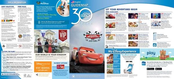 Disney's Hollywood Studios Unveils New Park Map