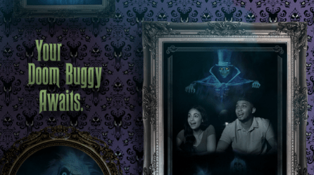 New Haunted Mansion PhotoPass Just Launched at Walt Disney World 1