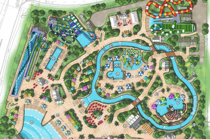 Island H20 Live! Water Park at Margaritaville Resort Orlando Announces Park Theme, Slide Names and More!