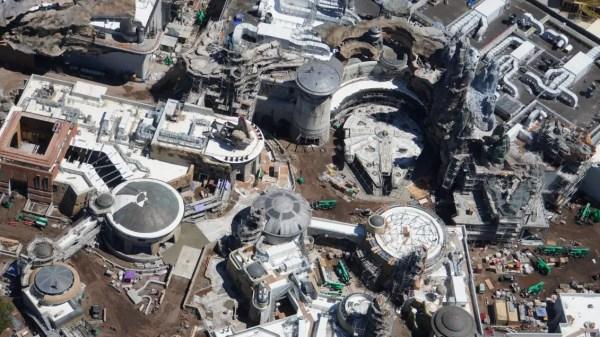 Aerial Views of Star Wars: Galaxy's Edge in Walt Disney World 2