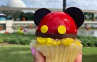 New Mickey Cupcake Found At Epcot