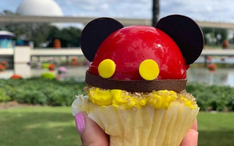 New Mickey Cupcake Found At Epcot