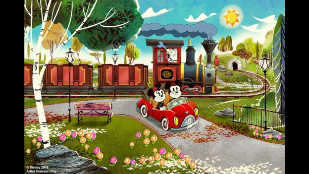 Mickey & Minnie's Runaway Railway in Hollywood Studios has pushed back to Spring of 2020