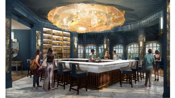 """New """"Beauty and the Beast"""" Themed Lounge at the Grand Floridian"""