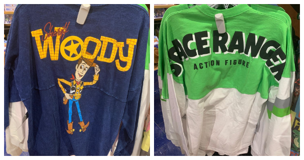 New Toy Story Spirit Jerseys Available At The Disney Store