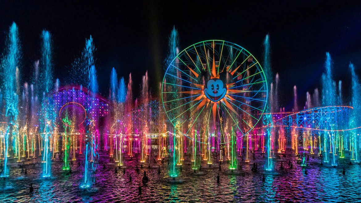 Take a Look at the Disney California Adventure Park 'World of Color' Nighttime Spectacular