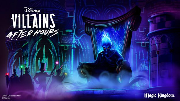 Villains After Hours Event is Coming to Magic Kingdom Park This Summer!