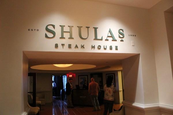 Shula's Steak House at Walt Disney World's Swan and Dolphin 1