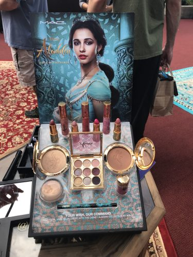 New Aladdin Collection by MAC Cosmetics Arrives at Disney Springs 8
