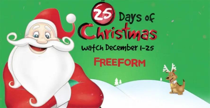 25 Days Of Christmas.Freeform 25 Days Of Christmas Unwraps New Holiday Classics