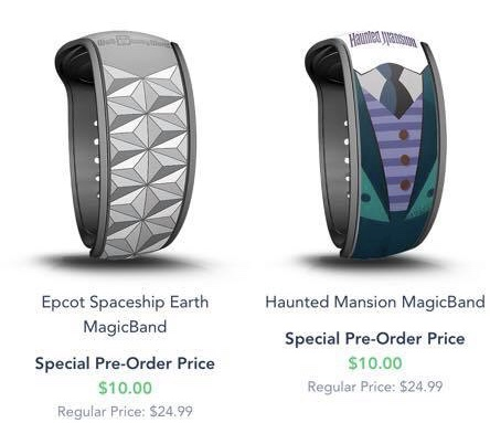 Upgradable Magic Bands for Disney Resort and AP Holders Now Available