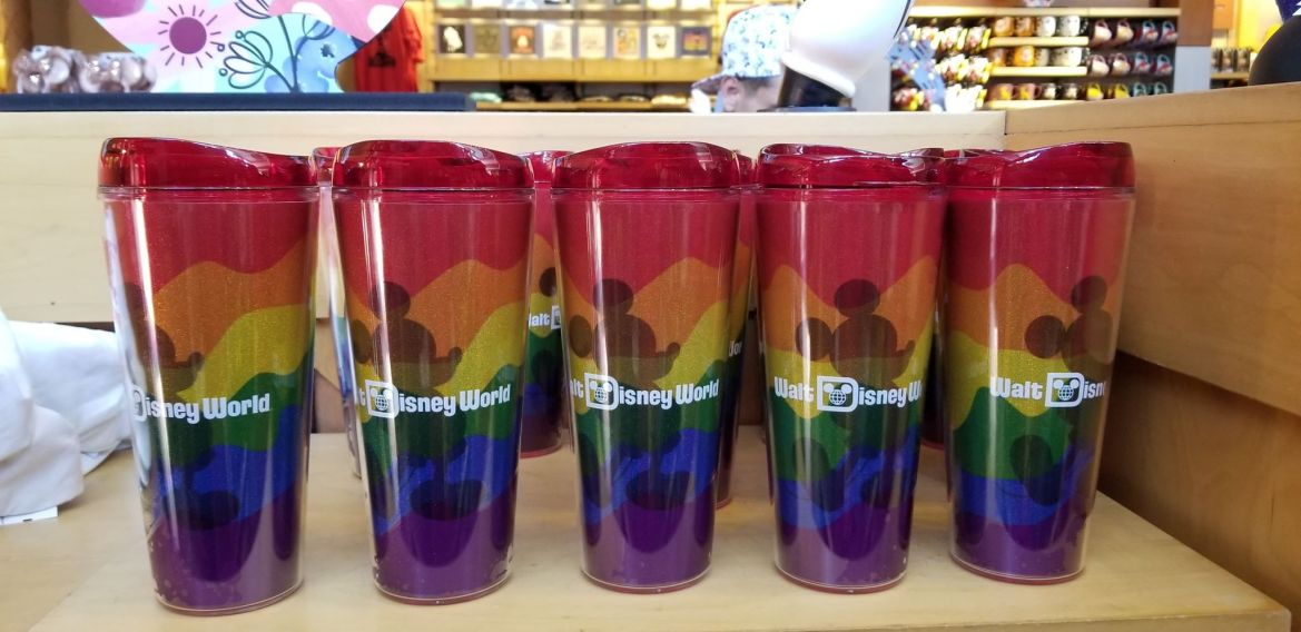 Sparkling New Rainbow Mickey Tumblers At Hollywood Studios