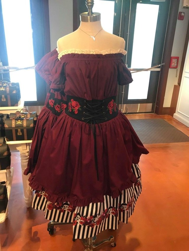 NWT DISNEY PARKS THE DRESS SHOP PIRATES OF THE CARIBBEAN DRESS ALL SIZES