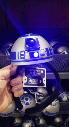 New BB-8 And R2-D2 Headbands From Star Wars: Galaxy's Edge 4