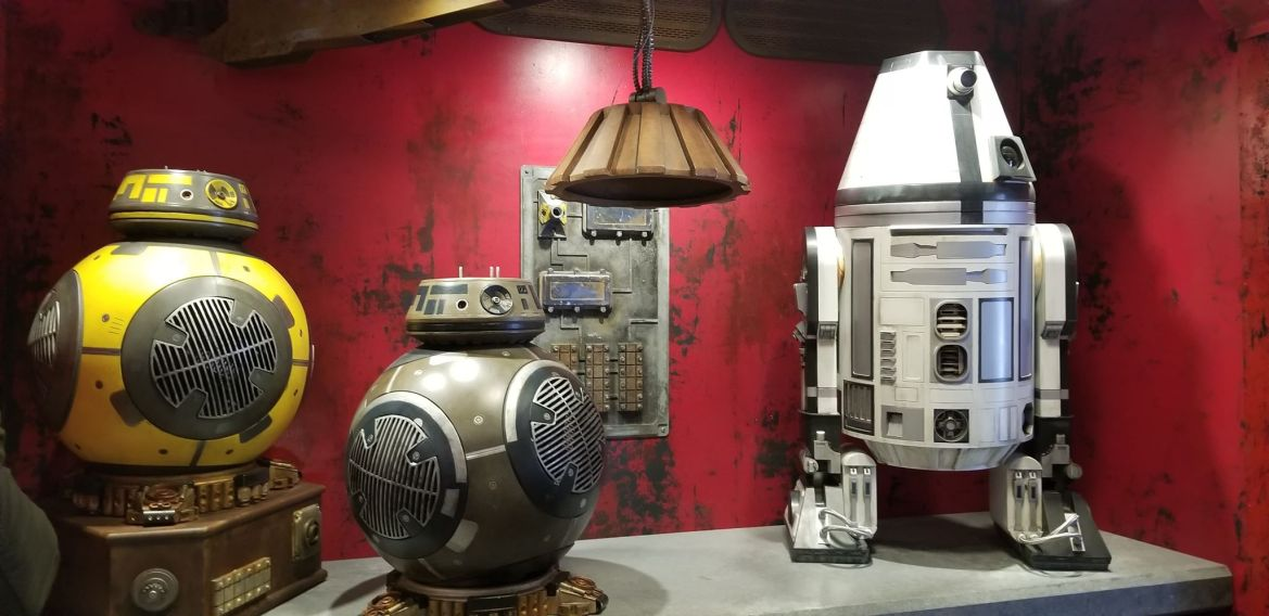 Droid Depot At Galaxy's Edge Lets You Bring Your Own Droid To Life
