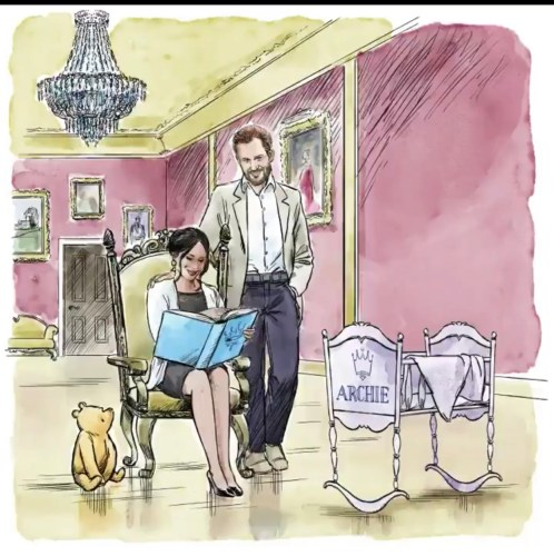 Disney's Artist Draws Special Winnie the Pooh Tribute for Prince Harry and Meghan's Baby 1