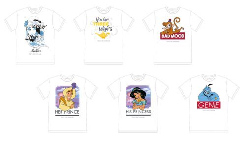 Personalised T-Shirts Available in the Disney Village!