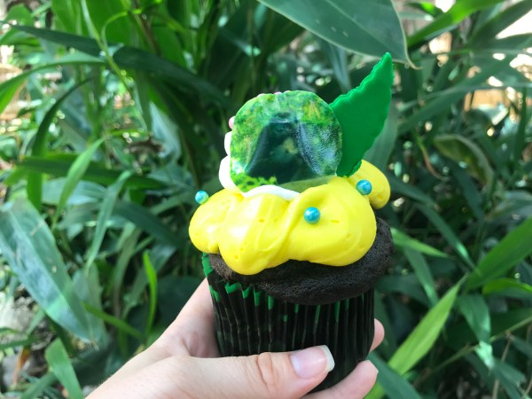 Celebrate Animal Kingdom's New Baby Gorilla With A Gender Reveal Cupcake