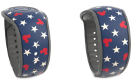 New Starry Mickey Mouse Americana MagicBand For Summertime