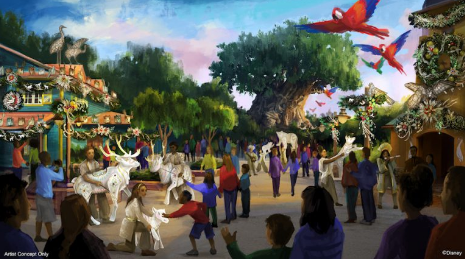 A New Holiday Celebration is Coming to Disney's Animal Kingdom 2