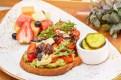Food Services MFO Today Show Cafe 041119Menu BoardsAVOCADO TOASTUSF
