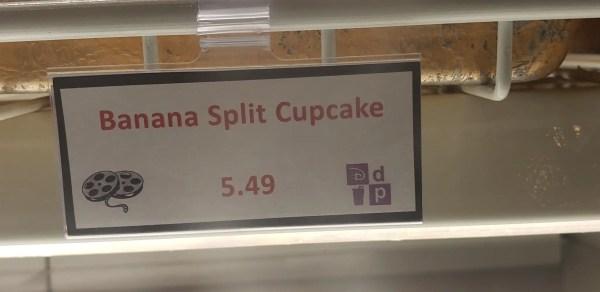 Banana Split Cupcake Spotted at Disney's All Star Movies Resort!