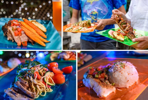 Food and Drinks Galore at H2O Glow Nights 1