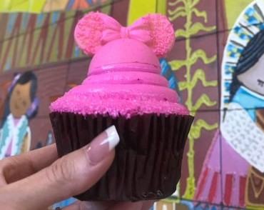 The New Imagination Pink Cupcake Had Debuted at WDW!