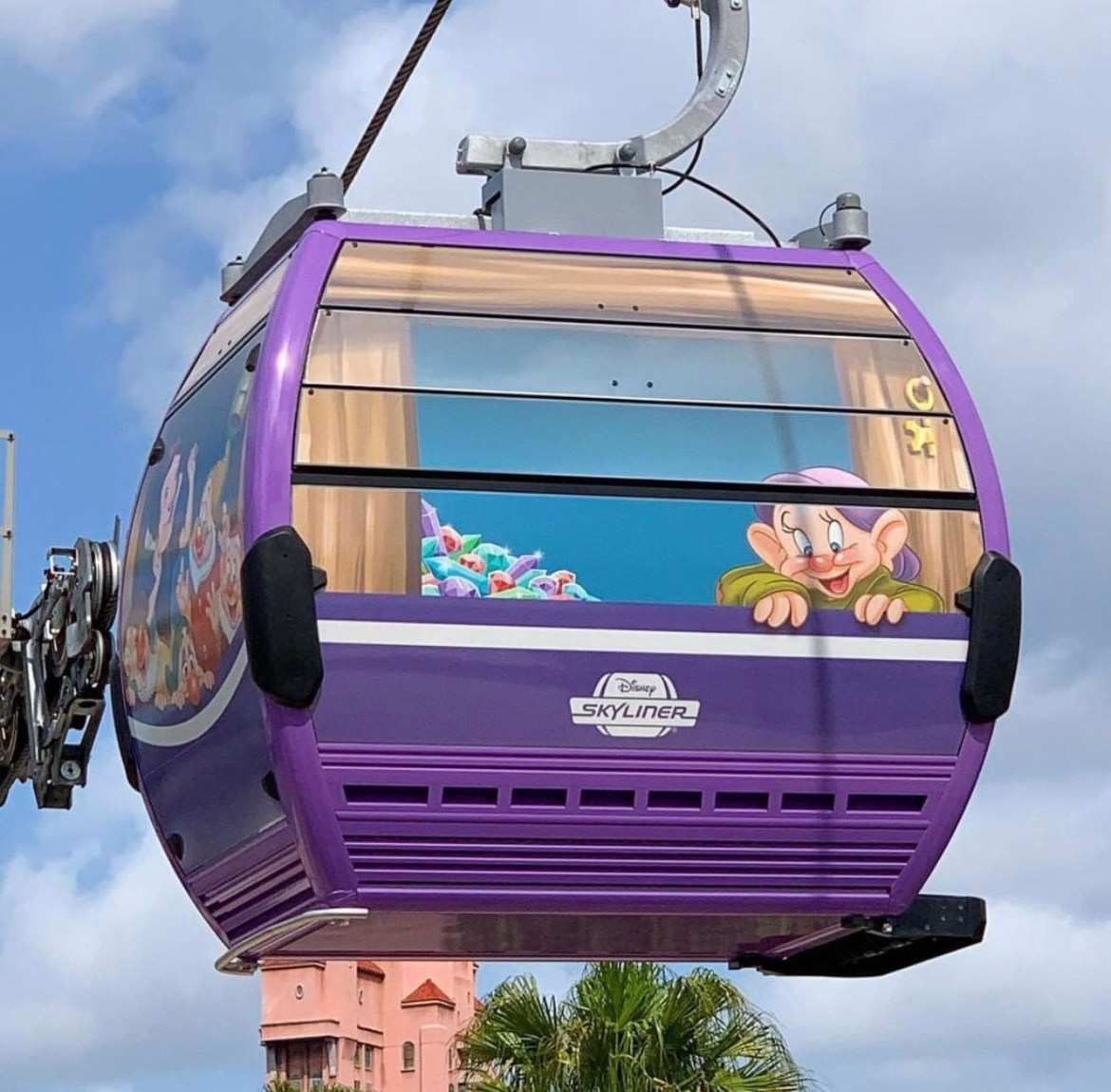Disney's Skyliner Gondola's Have Been Uncovered at Disney's Hollywood Studios