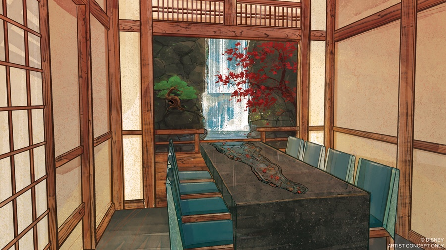 Takumi-Tei Restaurant to Opening This Summer at Epcot 1
