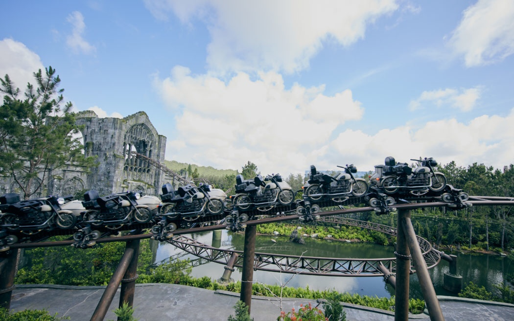 Exclusive Shots From Hagrids  Magical Motorbike Adventure Ride