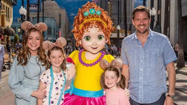 Alyson Hannigan Celebrates Fancy Nancy's Arrival at Disneyland