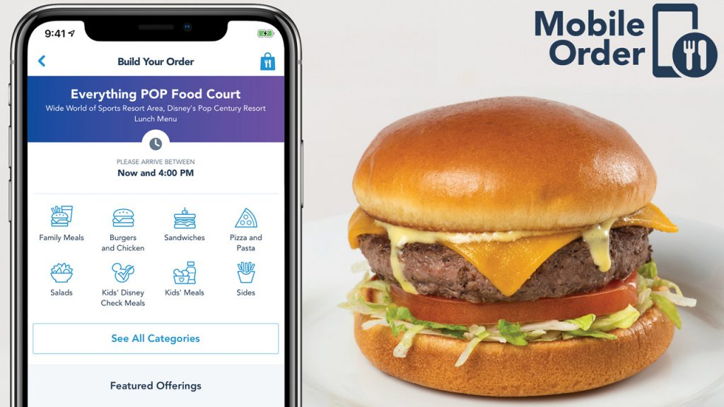 Disney's Mobile Ordering Service is Expanding at Walt Disney World.