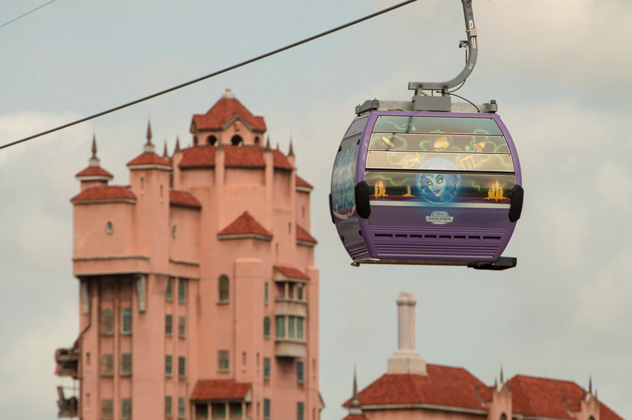 First Look at Disney's Skyliner Operation Hours