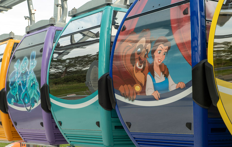 Disney Unwraps The Character Themed Skyliner Gondolas