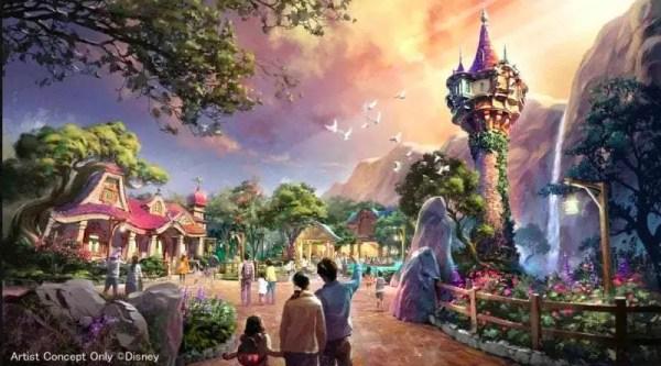 Disney TokyoSea's Fantasy Springs Attraction Update! 2