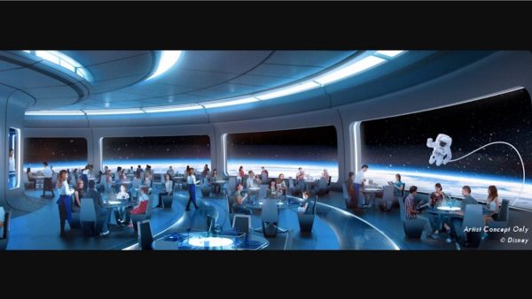 New Details About Epcot's Space-Themed Restaurant