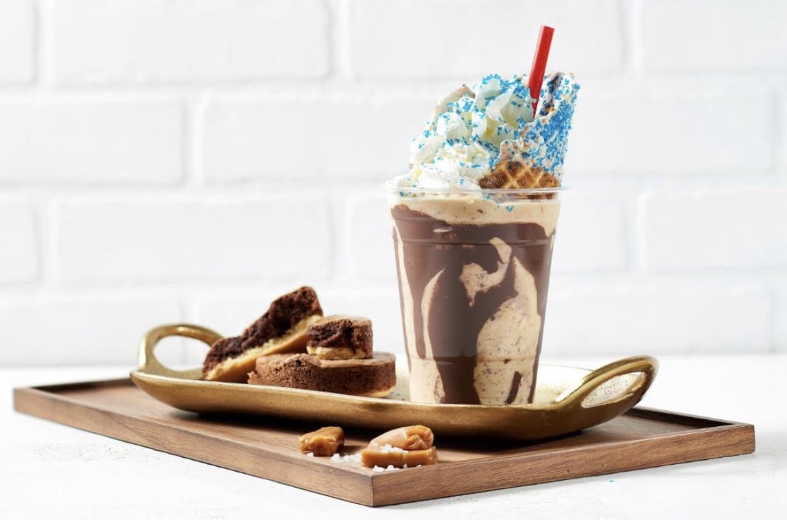 New Genie Inspired 'Magic Lamp Milkshake' Available at Vivoli il Gelato in Disney Springs