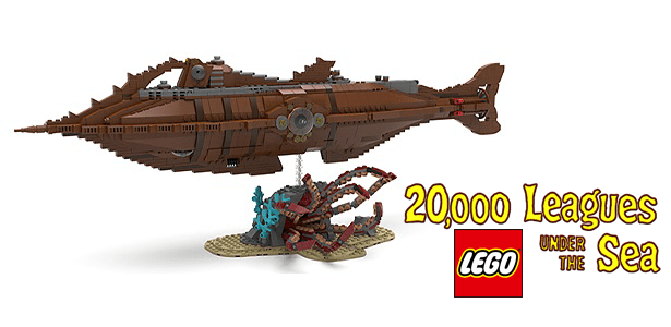 20,000 Leagues Under The Sea LEGO Set Coming To D23 EXPO 1