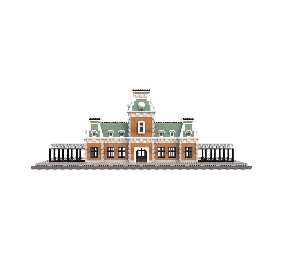 Main Street U.S.A. Train Station LEGO