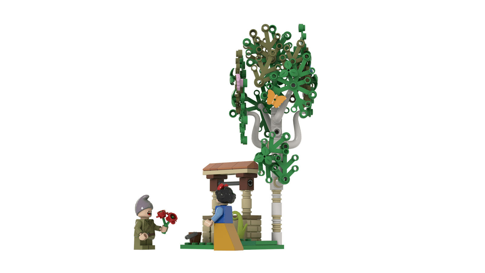 LEGO IDEAS: The Seven Dwarfs House LEGO Project 5