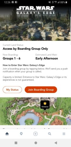 Star Wars Galaxy's Edge reservations are no longer needed 3