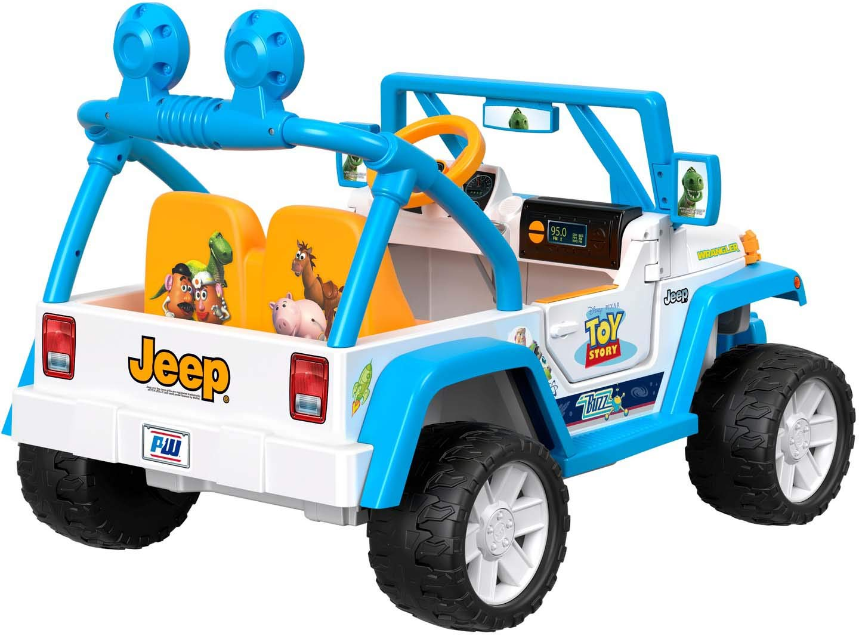 Toy Story Jeep Wrangler
