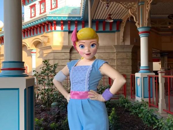 Bo Peep has arrived at Pixar Pier!
