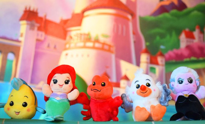 The Little Mermaid Wishables Collection Has Splashed In 1
