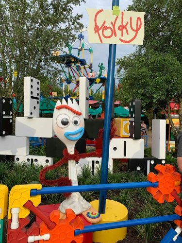 Forky Has Arrived in Toy Story Land! 1