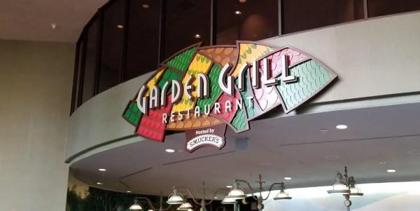 Garden Grill table service