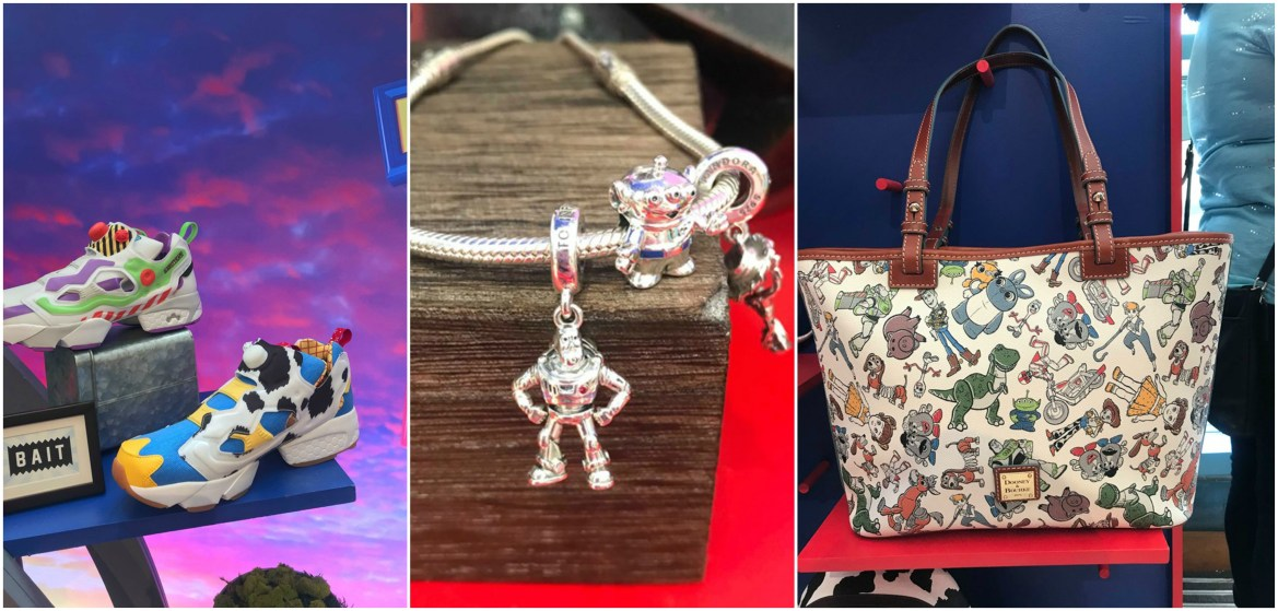 All New Toy Story 4 Dooney & Bourke Purses, Pandora Charms, Sneakers and More