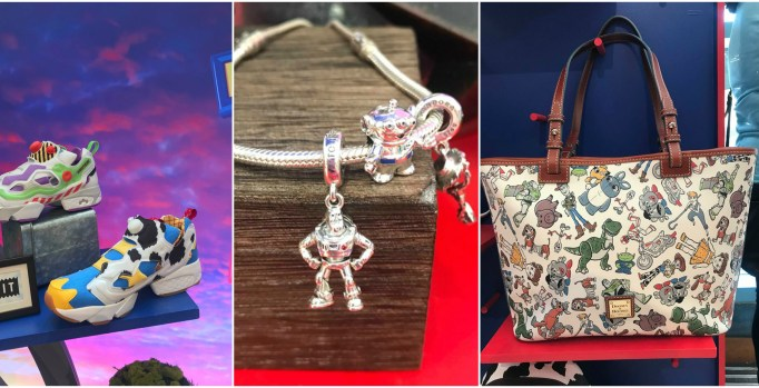 All New Toy Story 4 Dooney & Bourke Purses, Pandora Charms, Sneakers and More 1